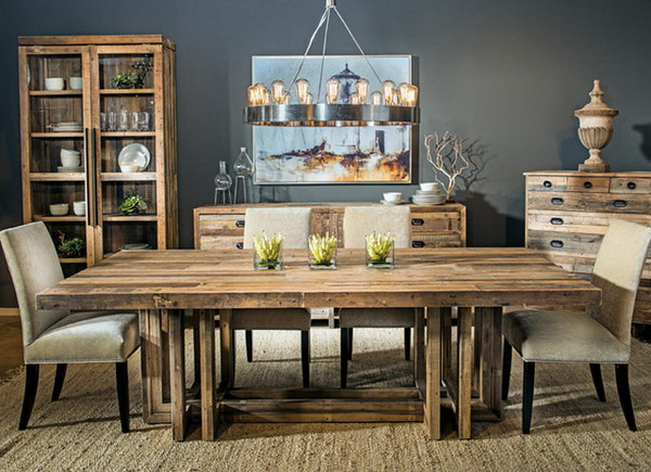 A Full Guide for Rustic Dining Table - dining room tables