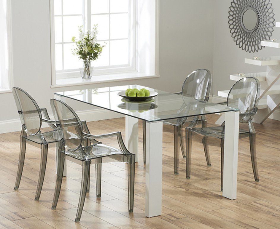 All you need to know about glass dining room tables for Dining room tables used