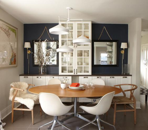 How to master the art of decorating small dining rooms for Little dining room