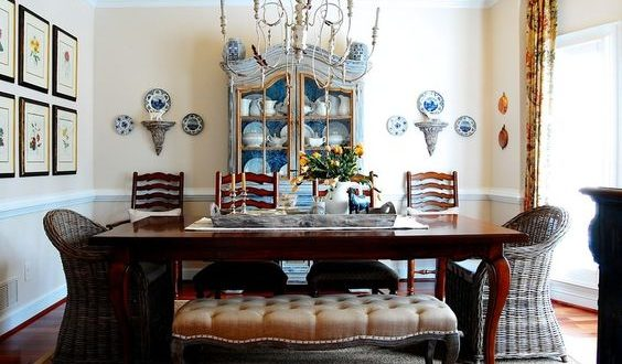 How to decorate country dining room in an amazing way!