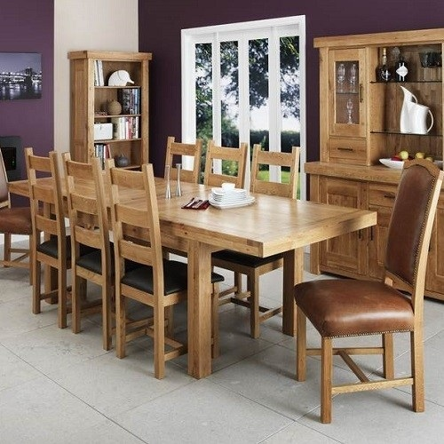The lazy man's guide to Oak dining room furniture
