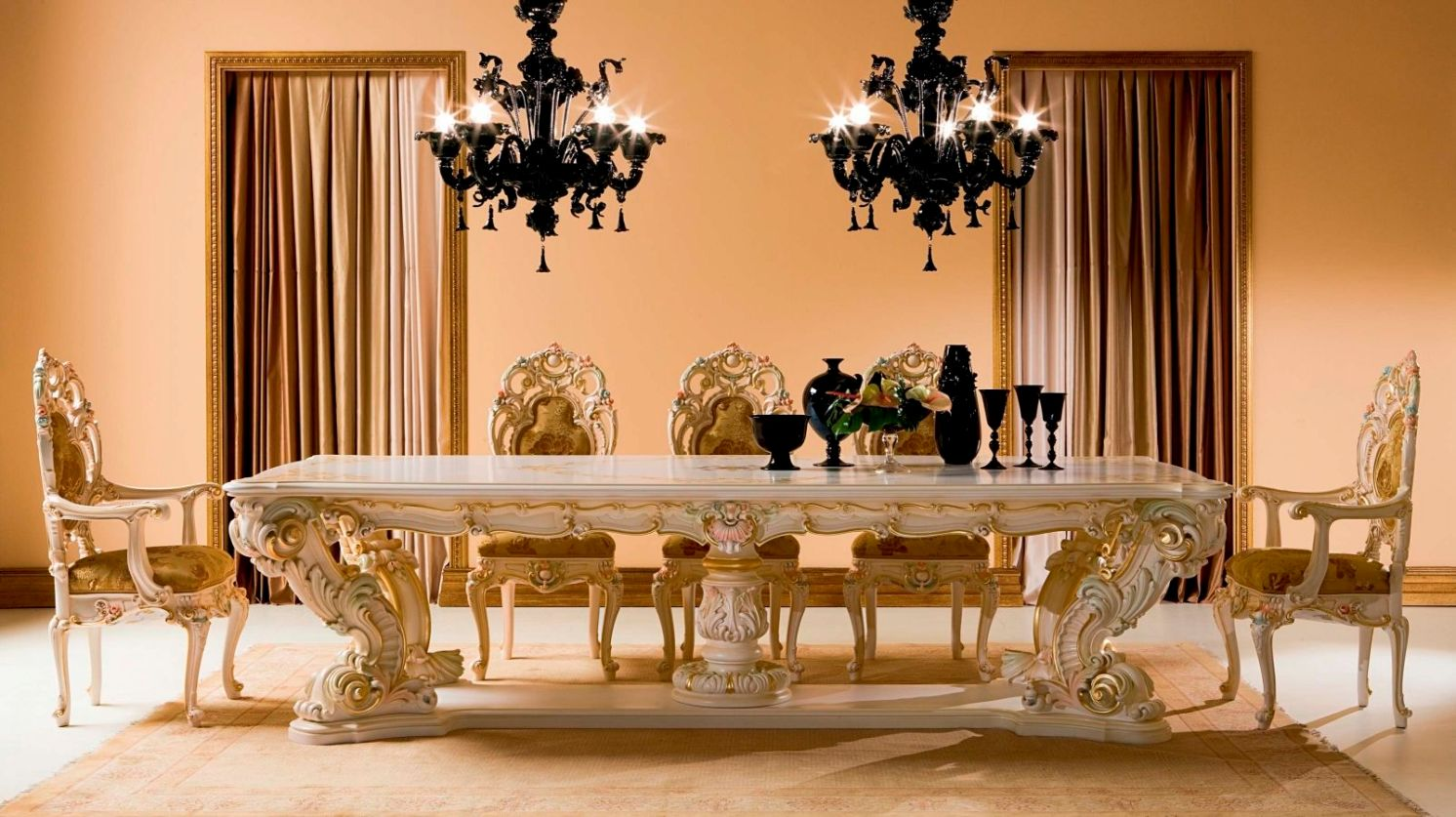 Tips to consider when buying an antique dining room table for Fancy dinner table