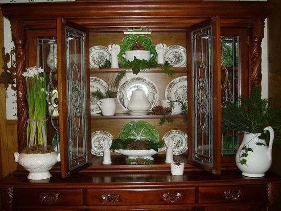 amazing tips to decorate your china cabinet dining room ideas