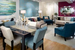 6 ideas to help you to Coordinate Paint Colors in the Living Room & Dining Room like a pro!