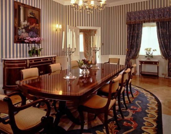 Awesome known ways to decorate your dining room better for Formal dining room table decorating ideas