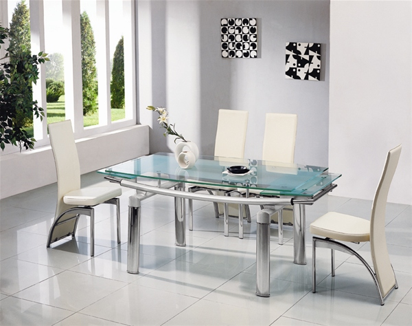 Don\'t waste time ,buy a glass dining table now ! - dining room ...