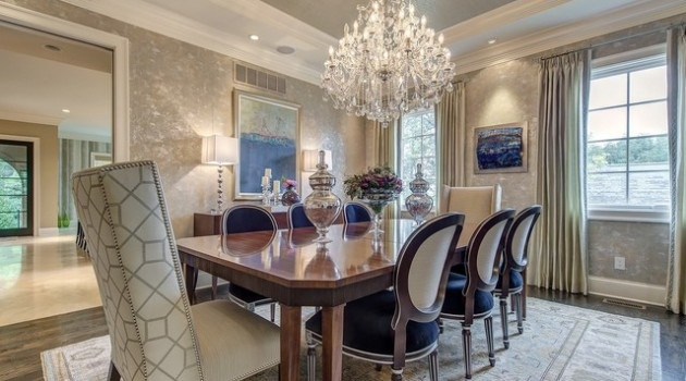 Formal dining room d cor exceed your limits 4 formal for Formal dining and living room ideas