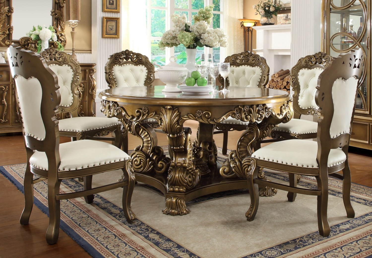 How to perfectly choose your best dining room table for Traditional dining table with bench
