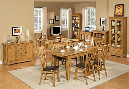 Is oak affecting you re the way decorate your dining
