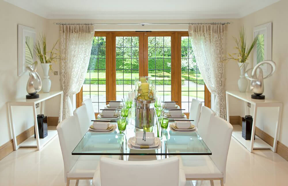 Key benefits of glass dining room sets you way to elegance dining room sets dining sets Dining room furniture glass