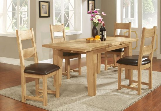 Oak dining room tables and love - How they are the same