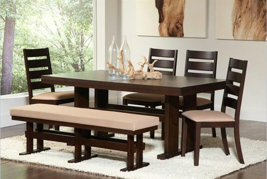 Practical guide: A dining room bench