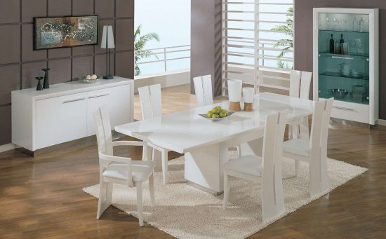 The lazy man s guide to dining room table and chair sets dining room chairs dining room sets - Epic image of dining room decoration with various black and white table setting ideas ...