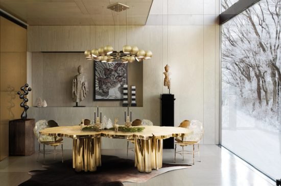 The way to Create a Modern Dining Room