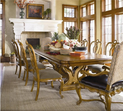 Types and styles of dining room tables that will fall in for Dining room styles 2016