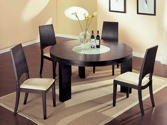 Types and styles of dining room tables that will fall in  : Types and styles of dining room tables that will fall in love with 3 550x413 from diningroomdid.com size 550 x 413 jpeg 41kB
