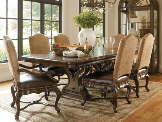 Types and styles of dining room tables that will fall in  : Types and styles of dining room tables that will fall in love with 8 550x413 from diningroomdid.com size 550 x 413 jpeg 56kB