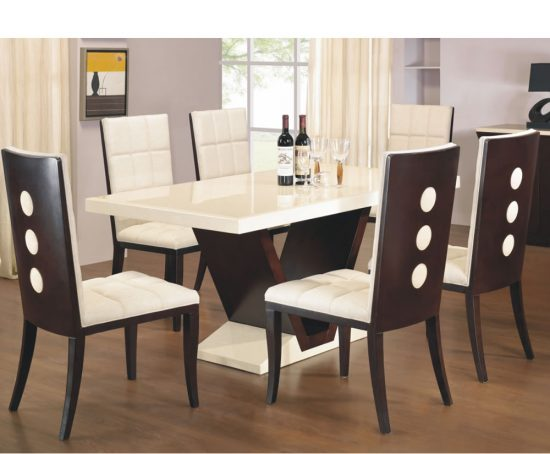 Types and styles of dining room tables that will fall in  : Types and styles of dining room tables that will fall in love with 9 550x454 from diningroomdid.com size 550 x 454 jpeg 35kB