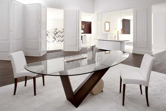 Creative space-saving folding dining room table ideas