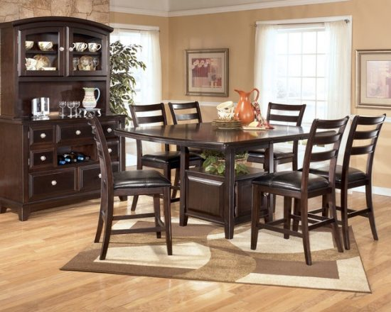 creative space-saving folding dining room table ideas - dining