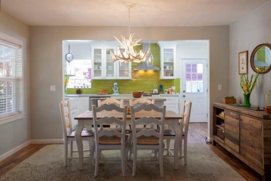 2017 Dining room within kitchen area designs for smart homeowners