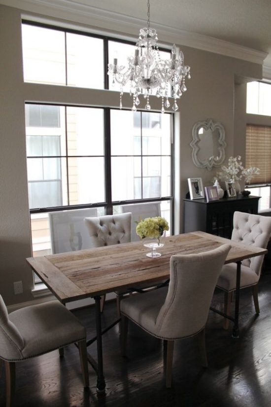 Perfect Interior Design Of Dining Room light gray in the dining room is perfect for those who prefer a more airy ambiance Home Design Dining Room For A Perfect Look Desired In 2017