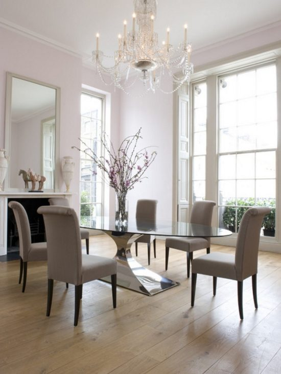 How to decorate an interior dining room with 2018 trends for Elle decor best dining rooms