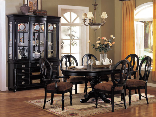 black dining room furniture sets. 2017 Black Dining Room Furniture Ideal For Stylish Rooms - Sets F