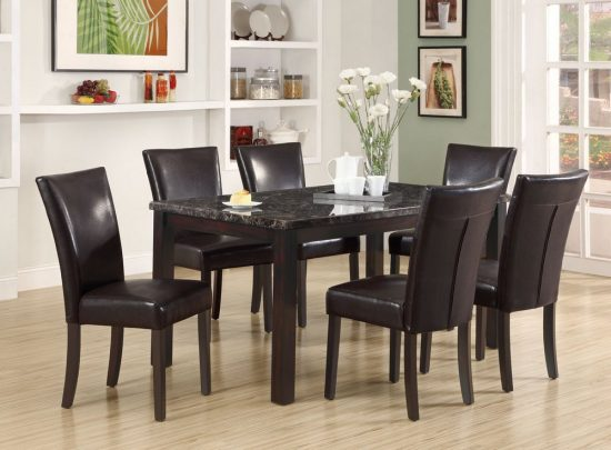 2017 black dining room furniture ideal for stylish dining rooms ...
