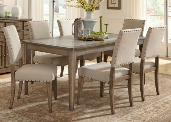 Dining room sets with caster chairs hd pics