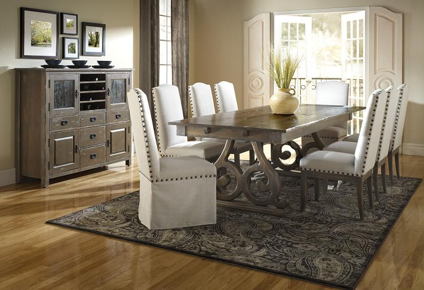 gray dining set. dining table decorating ideas for todayu0027s