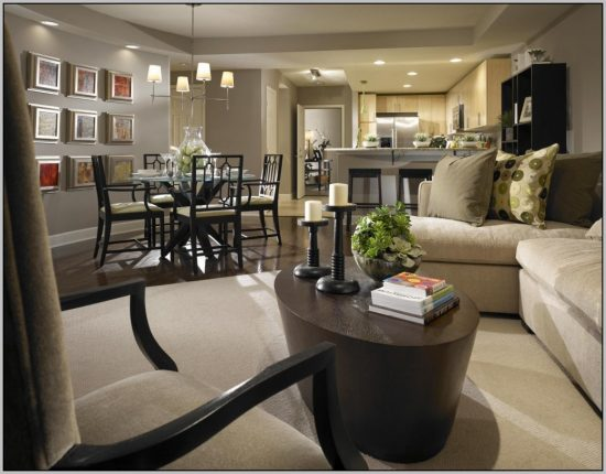 Best furniture choices for a combined living room with a dining room in 2017