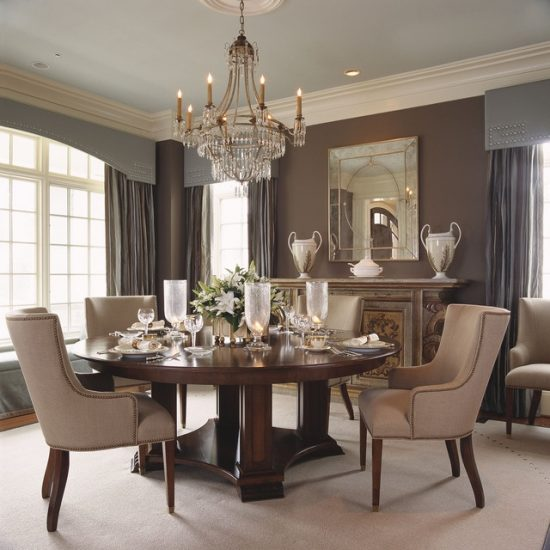 create a gorgeous dining room design with few tricks on