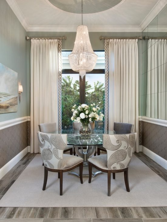 dining room 39 s curtains role in interior decoration