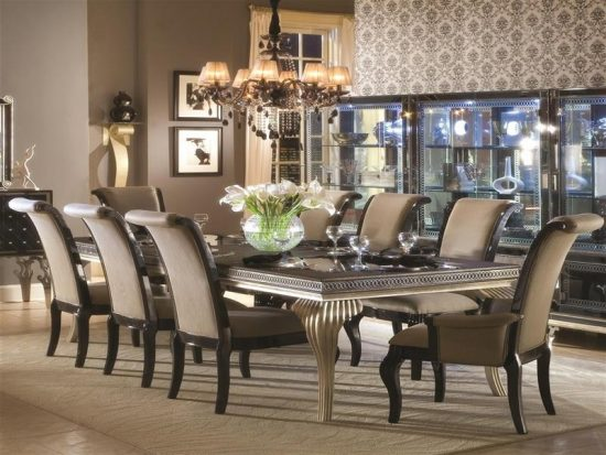 Formal dining room sets how elegance is made possible for Beautiful modern dining rooms