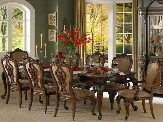 Contemporary Formal Dining Room Sets For 12 The Valencia To Decor