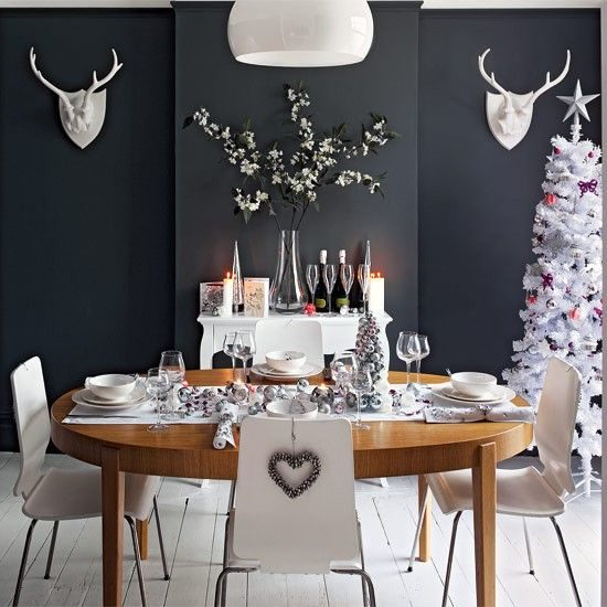 Get a festive flair in your dining room with this year Christmas decorations