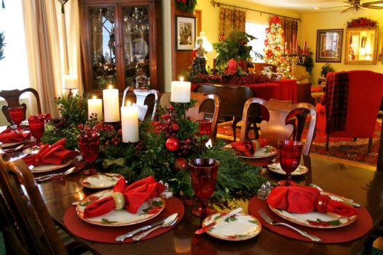 How To Decorate The Dining Room For This Year\'s Christmas ...