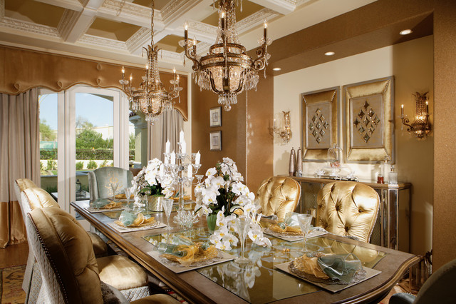 How to decorate a warm and stunning family dining room to