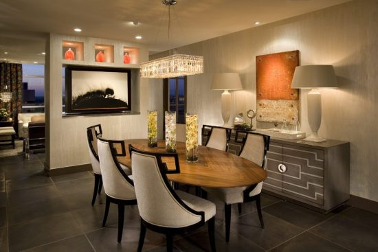 Interior design ideas for dining area
