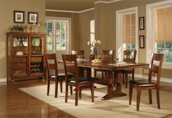 Oak Dining Room Set – How to Go Traditional Elegantly
