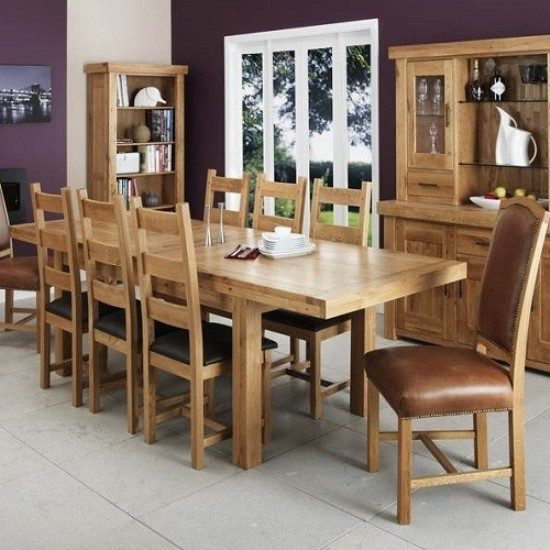Oak Dining Room Set – How to Go Traditional Elegantly - dining ...