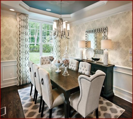 Pick the best dining room set from 2018 design world for Dining room ideas 2017