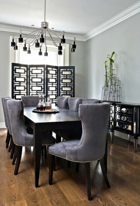 Pick the best dining room set from 2017 design world for Best dining room designs