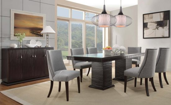 Pick the best dining room set from 2017 design world