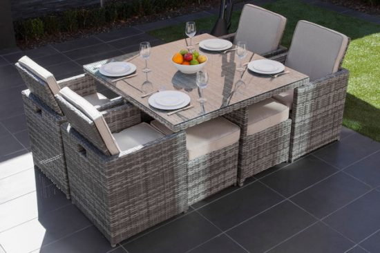 2017 Best Outdoor Dining Room Furniture variety to add charm and style