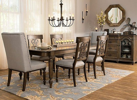 2017 casual dining room furniture extra comfort and for Dining room looks