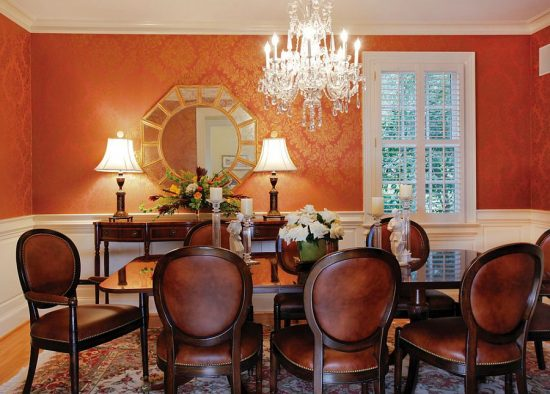 2017 Formal Dining Rooms; Bring elegance, comfort, and warmth