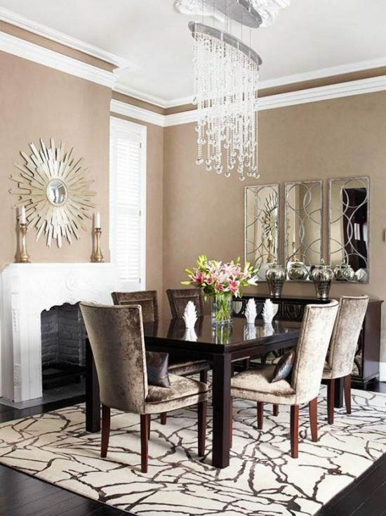 2017 Various Wall Covering Designs to Add Charm to Your Dining Space