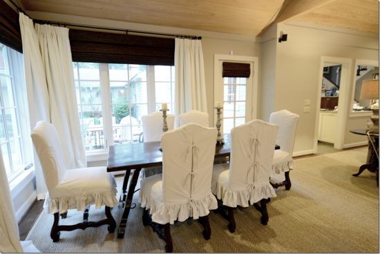 2017 dining room chair cover; a distinctive look and effective functionality